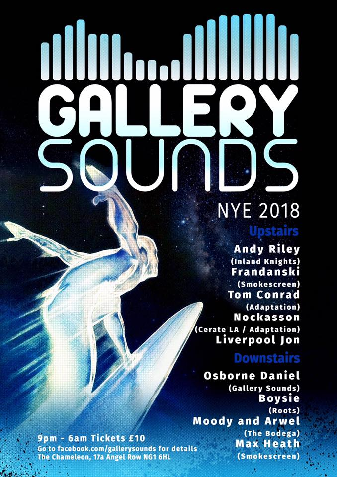 Tom Conrad @ Gallery Sounds NYE 2018 Allnighter